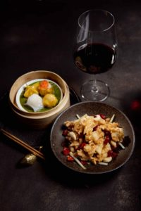 A combination of two exclusive Chinese dishes to the Salon bar in London